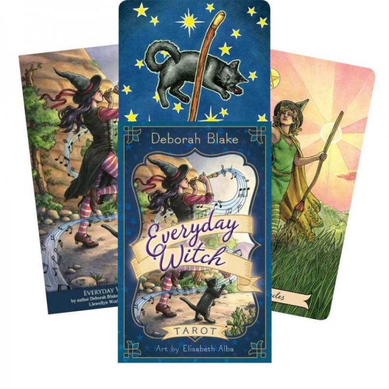 Карты Таро Ведьма Каждый День (день за днем) Everyday Witch Tarot