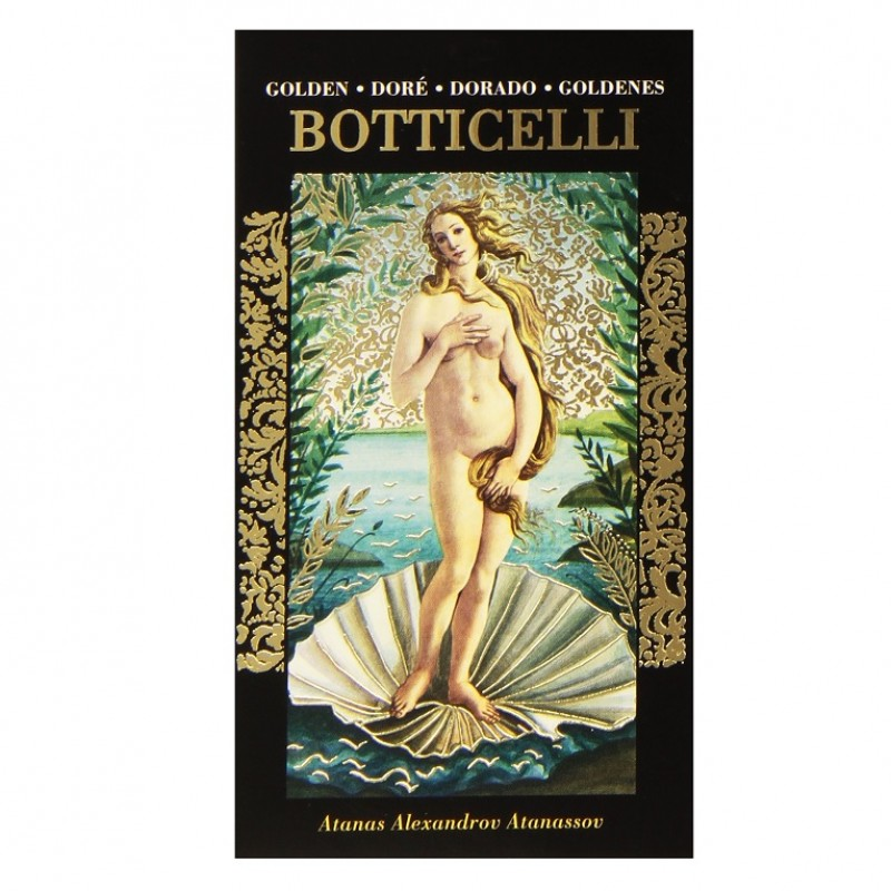 Карты Золотое Таро Боттичелли Golden Botticelli Tarot