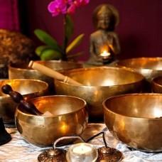Тибетские поющие чаши - акустический массаж, оздоровление, целительство
