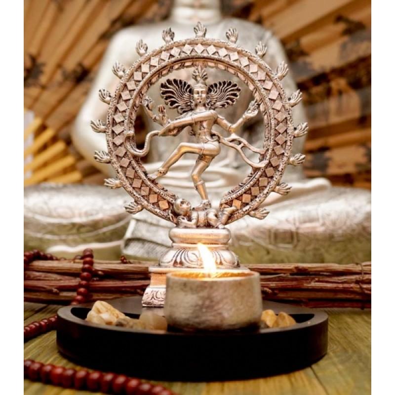 Натарадж Танцующий Шива статуэтка-подсвечник