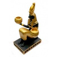 Осирис статуэтка-подсвечник