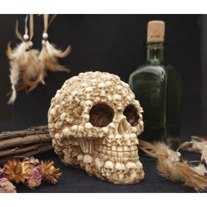 Череп Santa Muerte