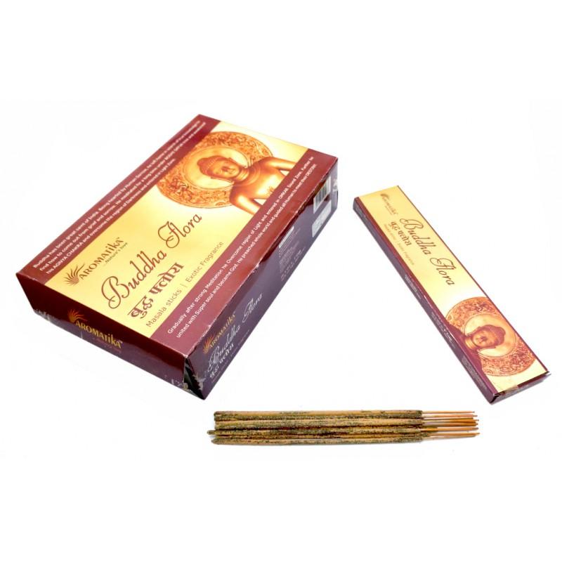 Будда Флора (Buddha Flora) Ароматические палочки натуральные 15 г.