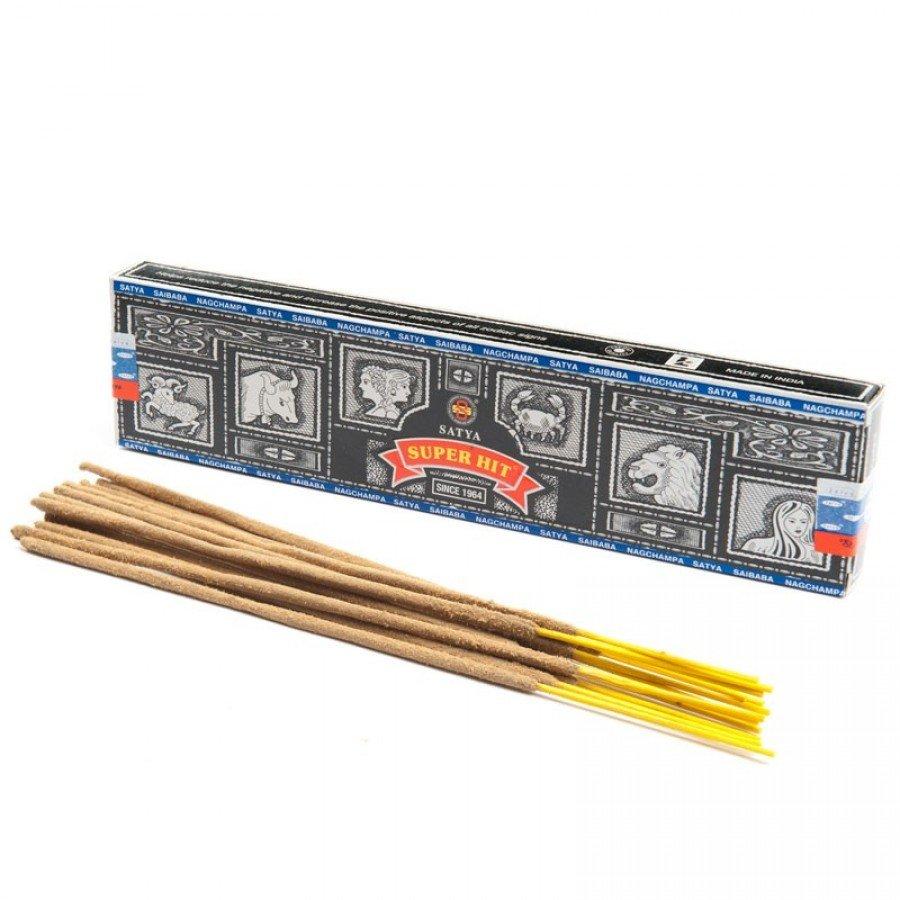 Супер хит (Super hit Incense) Ароматические палочки натуральные 15 г.
