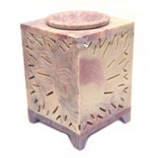 Аромалампа каменная квадратная Солнце