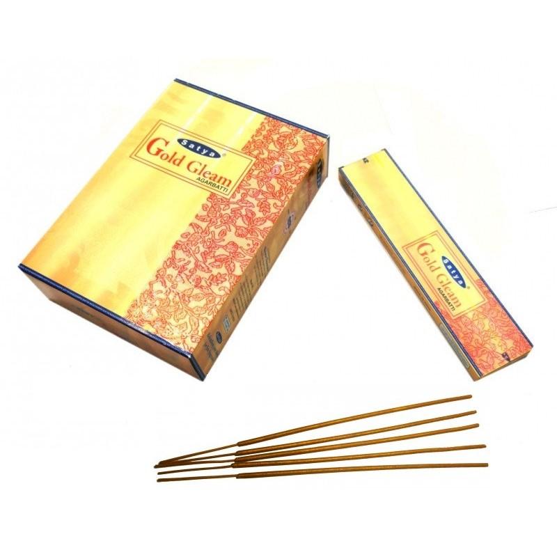 """""""Golden Gleam""""(Золотой лучик) Ароматические палочки натуральные 25 г."""